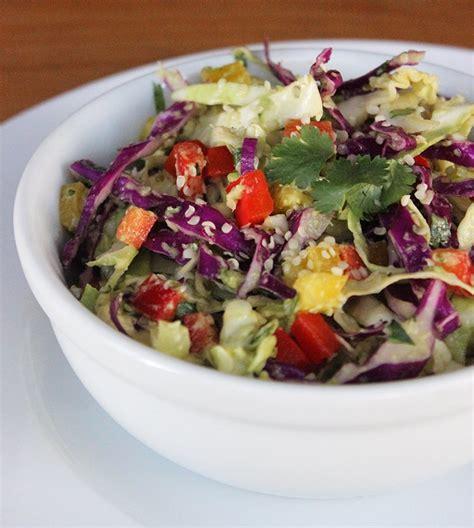 Cabbage Detox Salad Recipe by Cabbage And Hemp Detox Salad Low Carb Recipes Popsugar