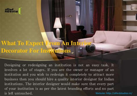 interior decorator use what to expect from an interior decorator for institutions