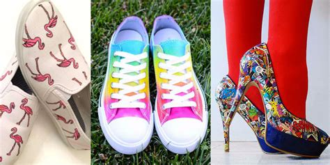 shoes diy 36 fabulous shoe makeovers anyone can do