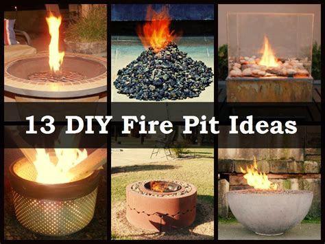 Inexpensive Patio Options by 13 Diy Fire Pit Ideas