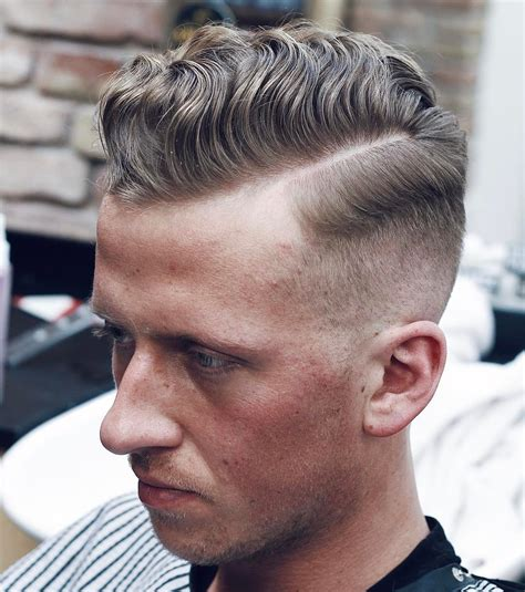 hair styles combed down comb over fade haircuts