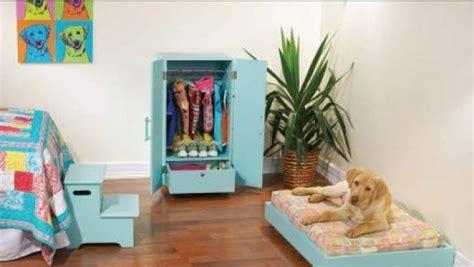 armadi per cani set di mobili per cani armadio letto scaletta e box per