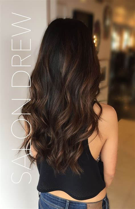 trendy to elegant black hair with caramel highlights good highlight ideas for black hair best hair color 2017