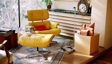 Yellow Leather Chair With Ottoman Design Ideas How To Decorate Living Room With Leather Chair Ottoman Roy Home Design
