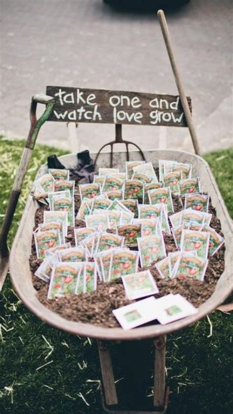 backyard wedding favors say thank you shabby chic wedding favors