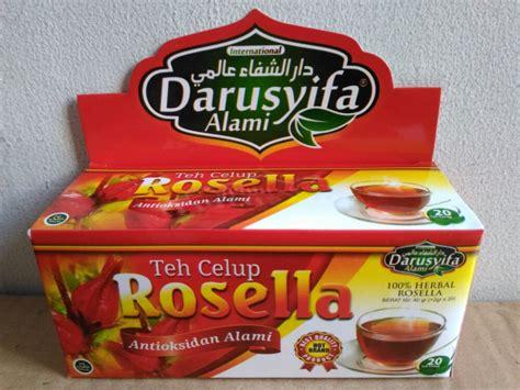 Teh Celup Satu Kotak darusyifa teh celup rosella alzafa store alzafa store