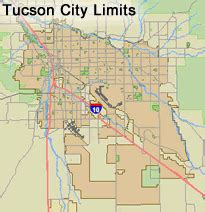map tucson arizona where is your business official website of the city of