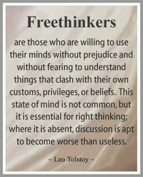 leo tolstoy quotes freethinkers leo tolstoy quote thoughts to