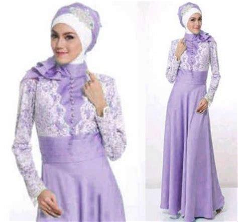 baju brokat muslim 10 contoh model desain baju muslim brokat terbaru 2018