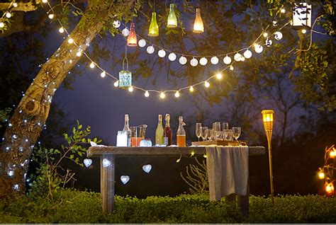 Outdoor Garden Light Turning Inside Out With Outdoor Lighting Effects Inspiration Diy At B Q