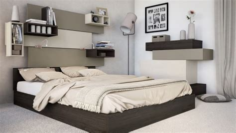 simple bedroom designs for small spaces idee deco chambre avec etageres