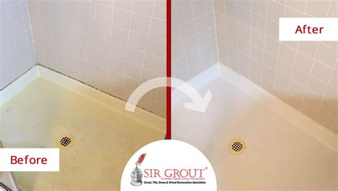 bathroom caulking service see how a bathroom was protected against water damage with