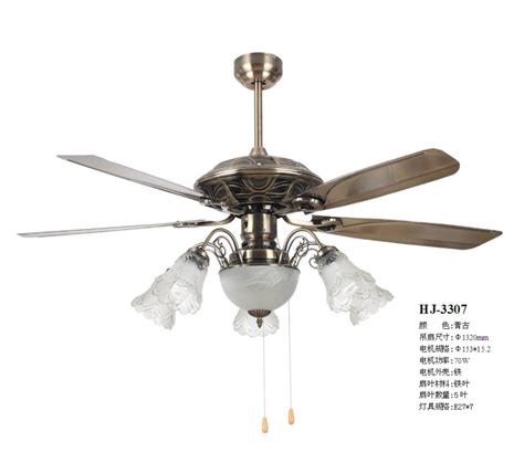 Pendant Light With Fan European Antique Decorative Ceiling L Living Room