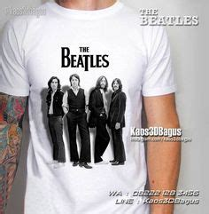 Kaos The Beatles New Fp653 Lennon Custom New York Mens 30 1 100 Cotton Slim Fit