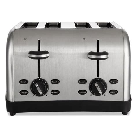 Toaster 2 Slot 4 Slice Wide Slot Toaster 4 Slice 12 3 4 X 13 X 8 1 2