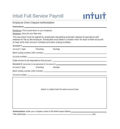 direct deposit form 47 direct deposit authorization form templates template
