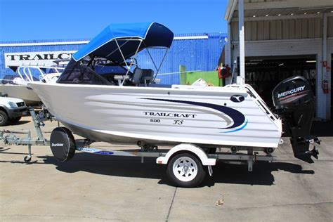 aluminum runabout boat for sale new trailcraft 500 runabout trailer boats boats online
