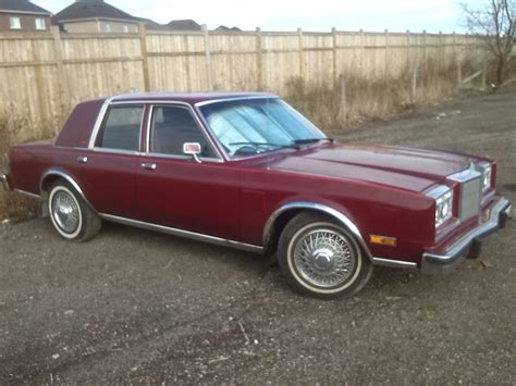86 Chrysler New Yorker by 85 Chrysler Fifth Avenue For Sale Mopar Forums