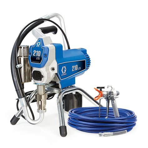 spray painter graco shop graco 210lts stand stationary airless paint sprayer
