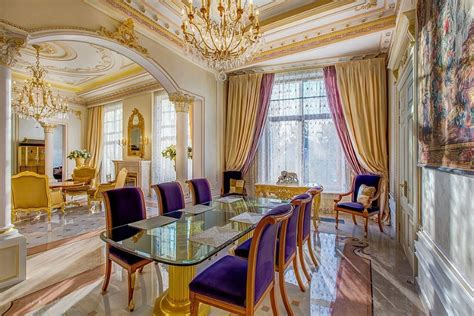 purple and gold room 10 superb victorian dining rooms
