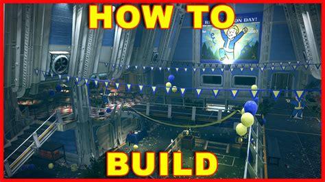 fallout    build doors base camp  youtube