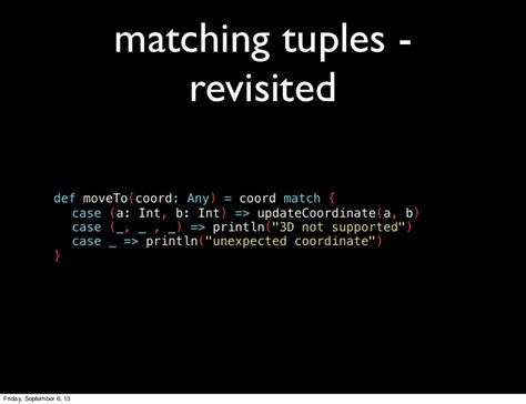pattern match varargs scala intro to pattern matching in scala