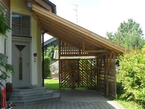 carport anbau der handwerkern 187 zimmerei