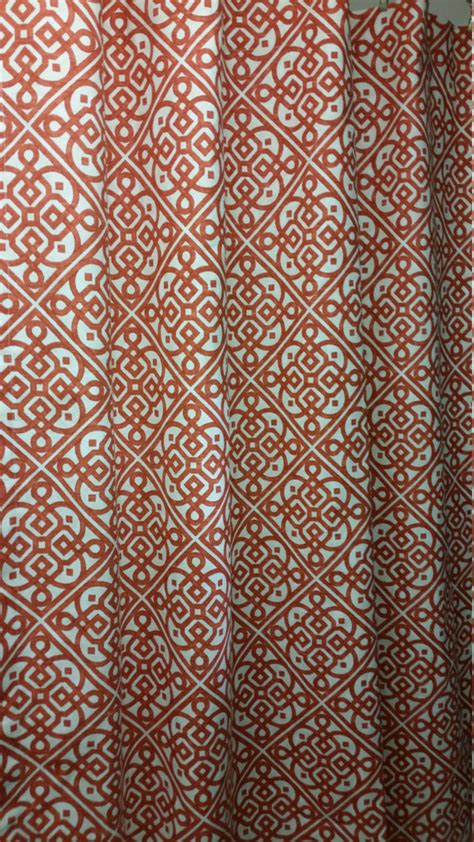 shower curtains designer fabric designer fabric shower curtain waverly lace it up by