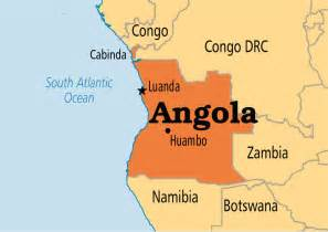 africa map angola angola operation world