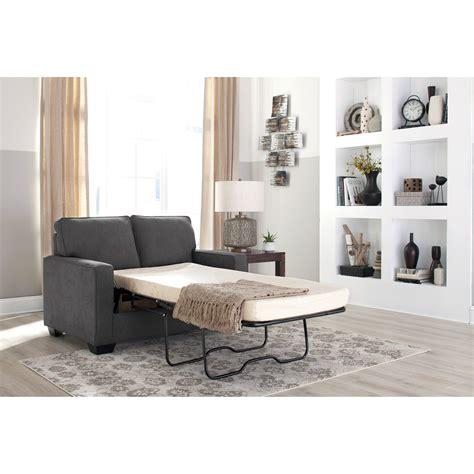 ashley zeb sofa sleeper signature design by ashley zeb twin sofa sleeper with