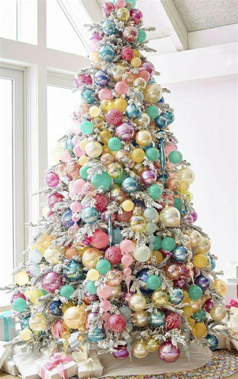 pastel decorado bonito decorar arbol de navidad bonita propuesta en tonos pastel