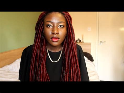 easy way to do faux marley locks easy way to do natural looking faux locs temporary loc