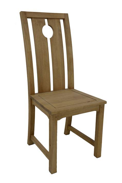 chaise bois haut dossier