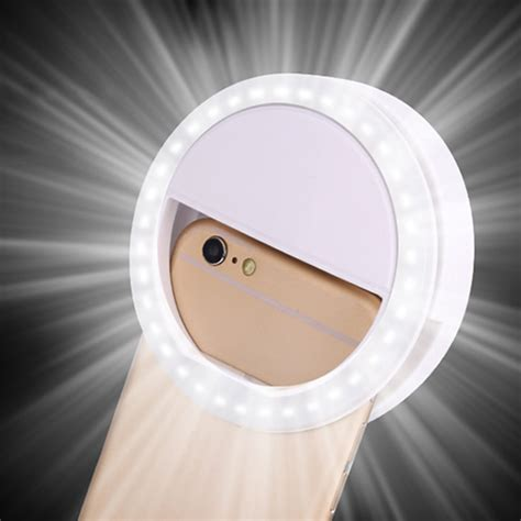 android light when phone rings selfie led ring fill light photography for