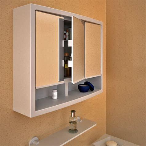 Armoire De Toilette Sans Miroir by Odf Armoire De Toilette Triptyque Sans 233 Clairage 780 00