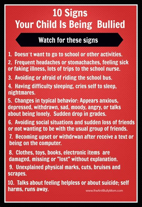signs my is 10 signs your child is being bullied the wait is