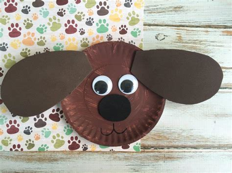 duke paper plate craft inspired   secret life  pets