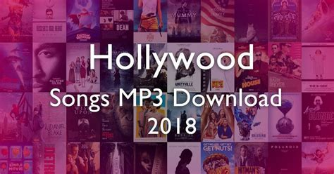 Best 50 Hollywood Songs List MP3 Download Free 2018