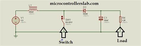 dc dc boost converter circuit diagrams boost converter using ir2110 and pic microcontroller