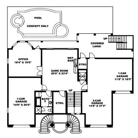 mediterranean floor plans mediterranean style house plan 3 beds 5 baths 5566 sq ft