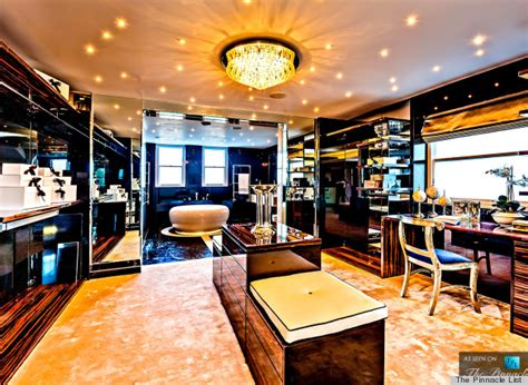 Find Bedroom Furniture by This Luxury London Flat Has The Dressing Room Of Your