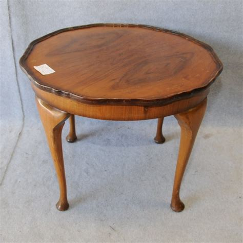 a walnut coffee table tables coffee antique
