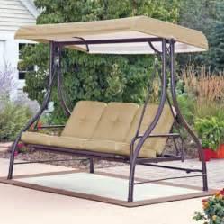Patio Garden Swing Sets Mainstays Lawson Ridge Converting Outdoor Swing Hammock
