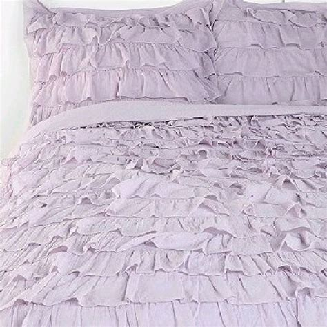 waterfall ruffle comforter purple waterfall ruffle bedding set ruffle bedding bed