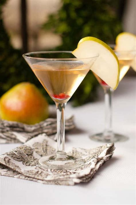 martini pear best pear martini cocktail recipe reluctant entertainer