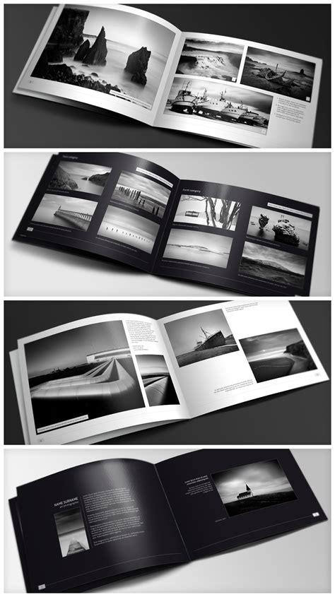 Layout For Photography Portfolio | splendid minimalfolio photography portfolio a4 brochure