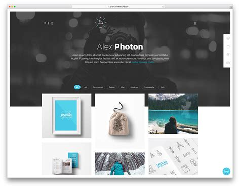 portfolio template 35 best portfolio website templates html