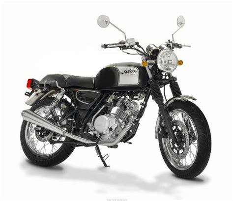 Yamaha Motorrad Aster by Orcal Astor 125 Is The 60s You Ve Been Looking For