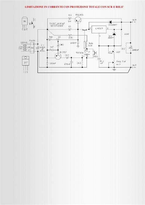 alimentatore variabile stabilizzato alimentatore stabilizzato con lm317 mj2955