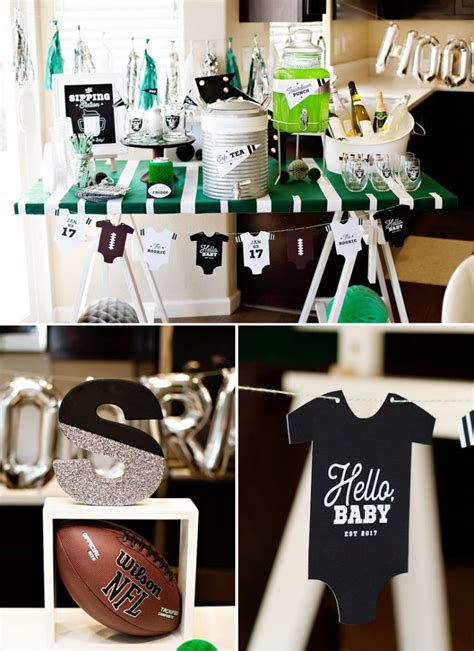 Football Baby Shower Favors by A Football Baby Shower Sip And See With Nfl Homegating